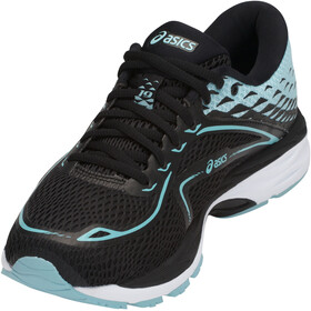asics Gel-Cumulus 19 Shoes Women Black/Porcelain Blue/White